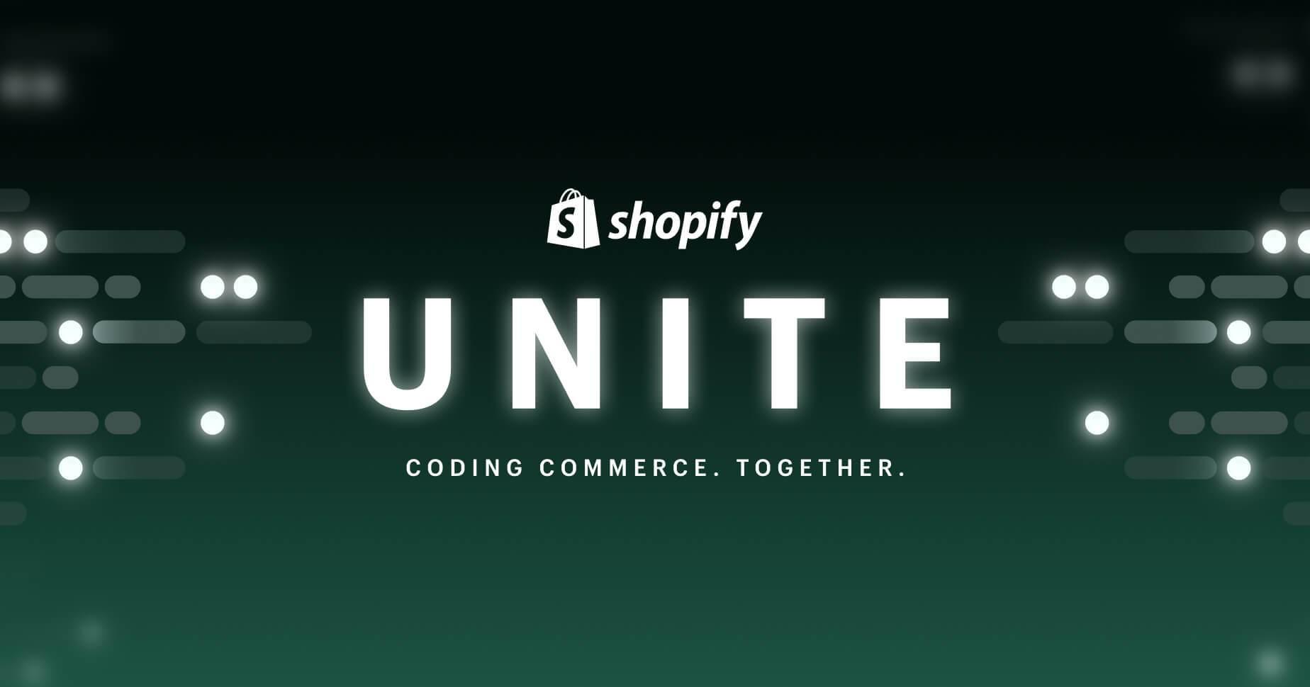 Shopify Unite 2021